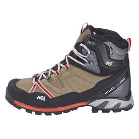 Millet High Route GTX Shoes Men faint brown/red